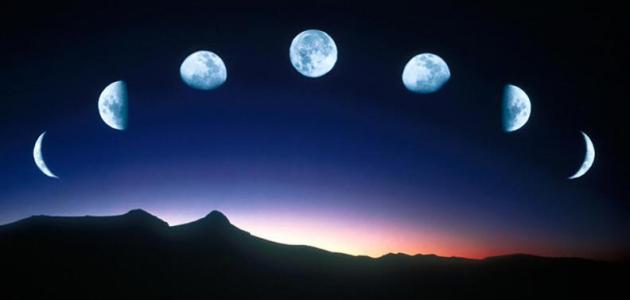 صورة معلومات عن القمر