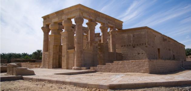 صورة الآثار الرومانية في مصر