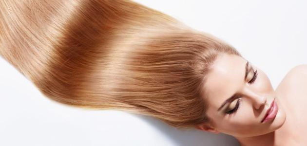 صورة تفتيح لون الشعر طبيعياً