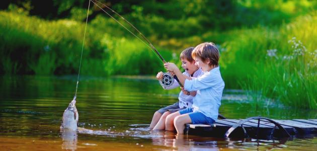 صورة أفضل طريقة لصيد السمك