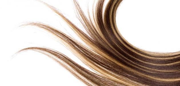 صورة خلطة لتطويل الشعر