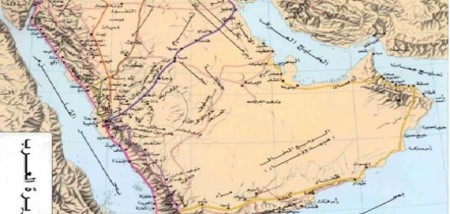 صورة شبه الجزيرة العربية قبل الإسلام