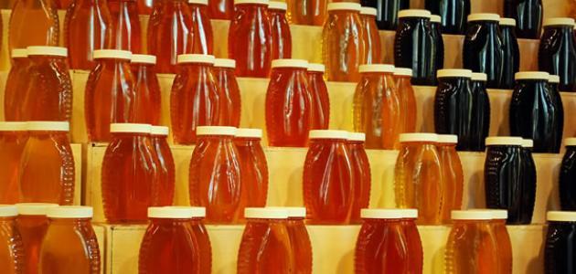 صورة أنواع العسل وفوائده