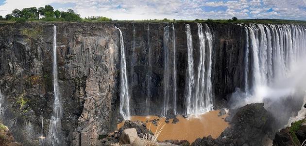 صورة أين تقع دولة زيمبابوي