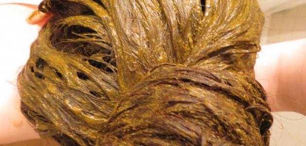 صورة طريقة صبغ الشعر بالحناء