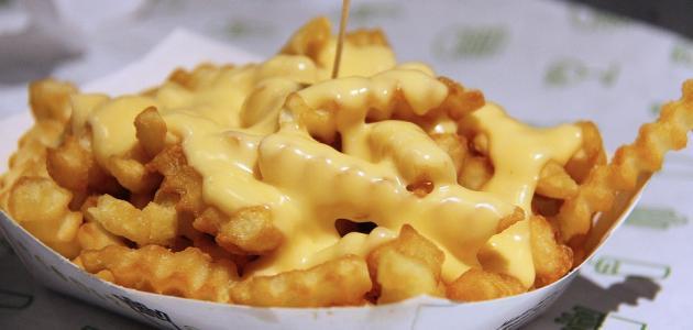 صورة طريقة البطاطس المقلية بالجبن