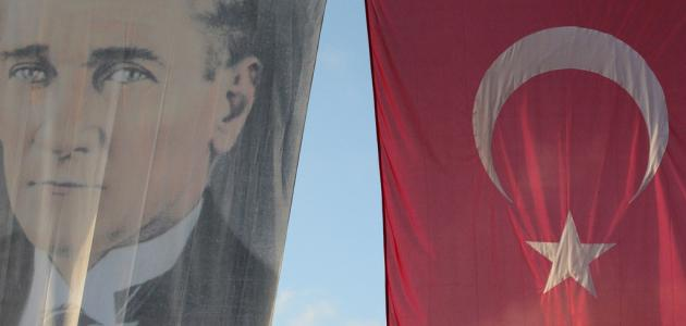 صورة كيف مات أتاتورك