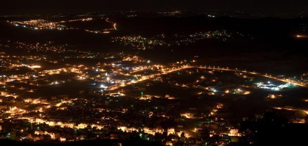 صورة مدينة نابلس وقراها