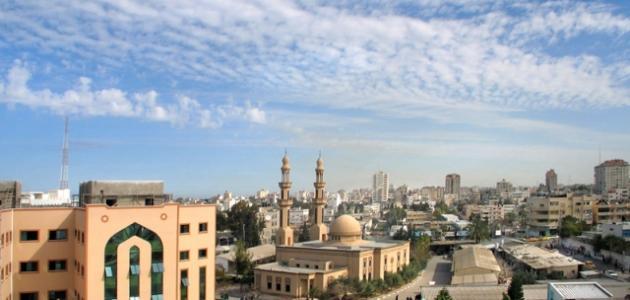 صورة مدن قطاع غزة