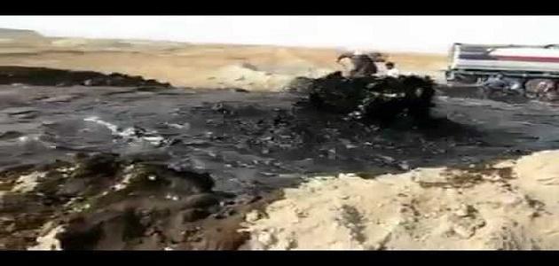 صورة كيف يستخرج البترول