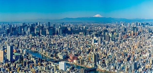 صورة معلومات عن مدينة طوكيو