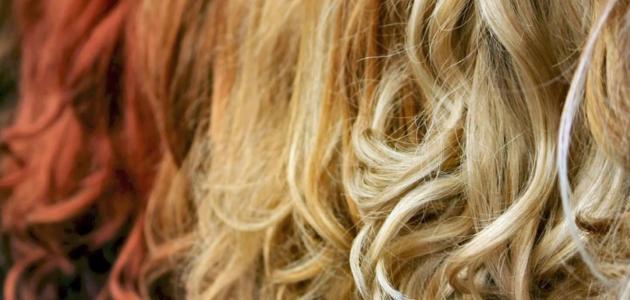 صورة تعلم خلط ألوان صبغات الشعر