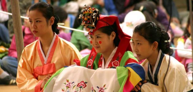 صورة عادات وتقاليد كوريا