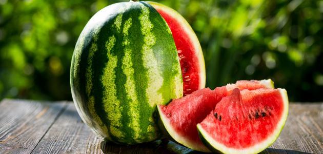 صورة فوائد البطيخ الأحمر