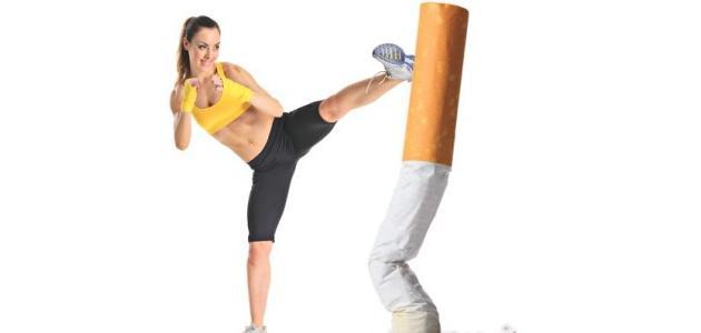 صورة التدخين والرياضة