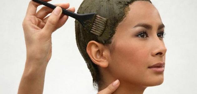 صورة كم مدة الحناء على الشعر