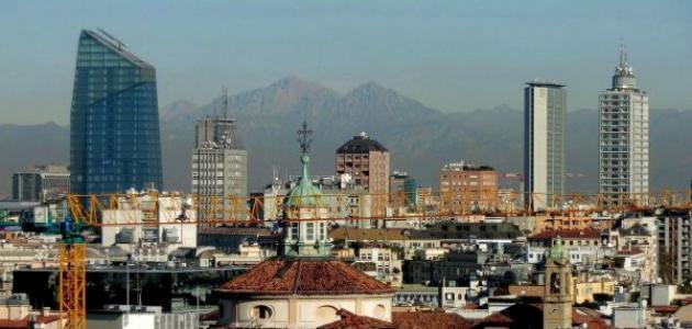 صورة أين تقع ميلانو