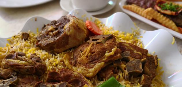 صورة طريقة عمل أرز برياني لحم