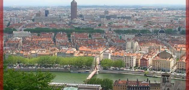 صورة مدينة ليون الفرنسية