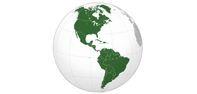 صورة تضاريس قارة أمريكا