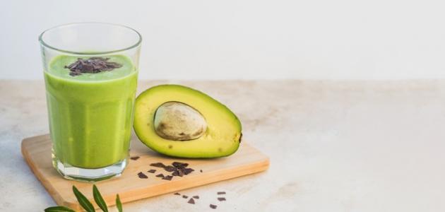 صورة طريقة تحضير عصير الأفوكادو