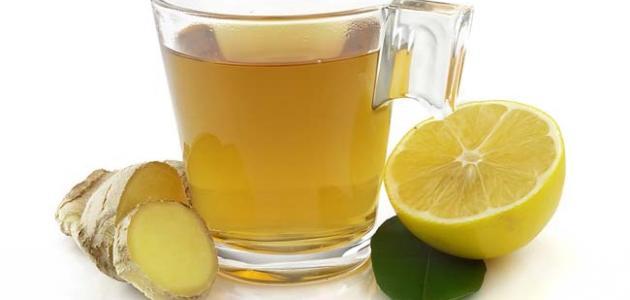 صورة طريقة عمل الزنجبيل والليمون
