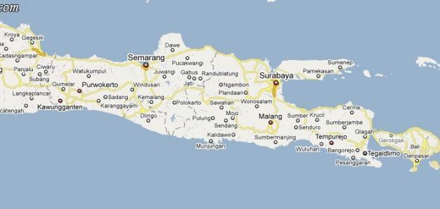 صورة أين تقع جزيرة جاوة