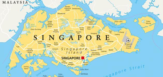صورة أين تقع سنغافورة وما هي عاصمتها