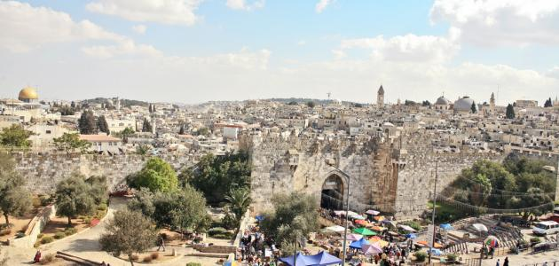 صورة ما هي مدن فلسطين