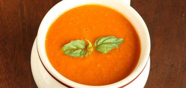 صورة طريقة شوربة الطماطم بالكريمة