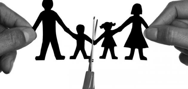 صورة ظاهرة الطلاق