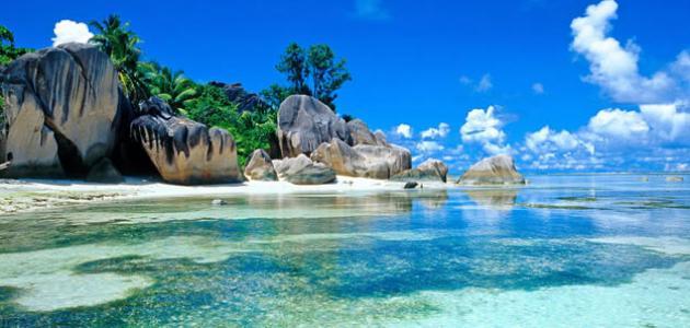 صورة أين تقع جزر سيشل