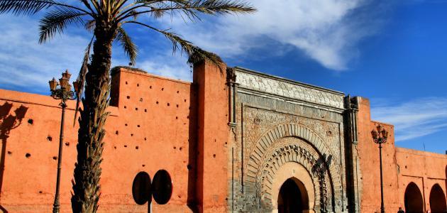صورة مدينة أثرية مغربية
