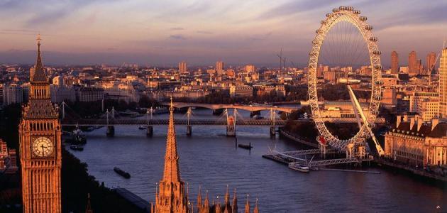 صورة وصف لمدينة لندن