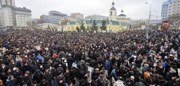 صورة عدد المسلمين في روسيا