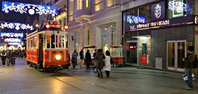 صورة شارع الاستقلال في إسطنبول