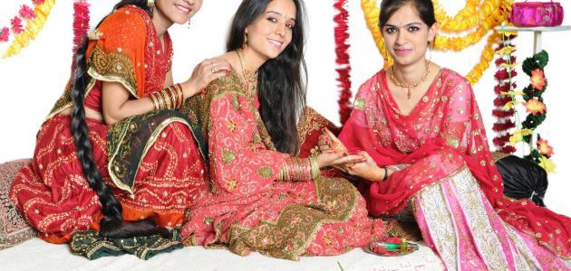 صورة تقاليد الزواج في الهند