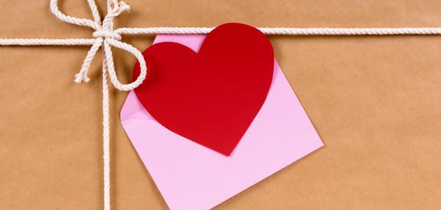 صورة رسائل حب مكتوبة
