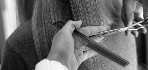 صورة أفضل طريقة لقص الشعر التالف