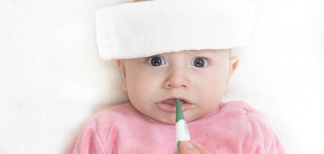صورة أضرار ارتفاع درجة الحرارة عند الأطفال