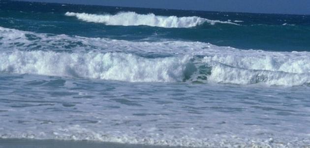 صورة كلمات في البحر