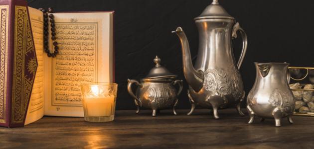 صورة كلمات في قدوم شهر رمضان