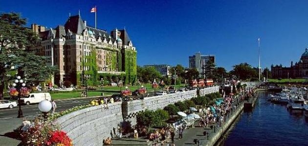 صورة مدينة فكتوريا في كندا