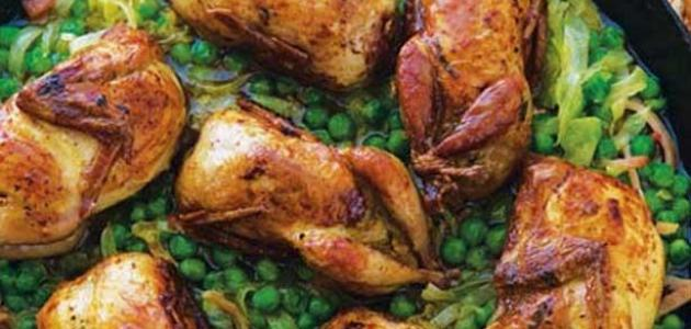 صورة طريقة طبخ طيور السمان