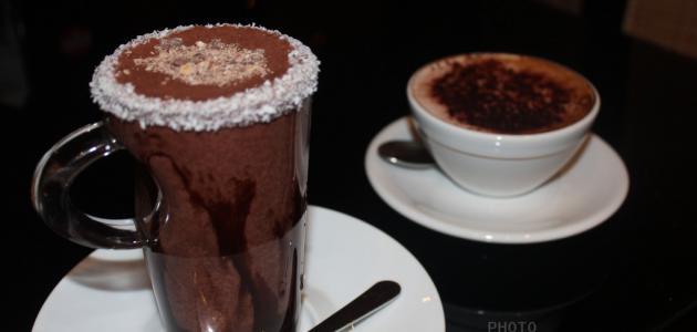 صورة طريقة عمل قهوة بالشوكولاتة