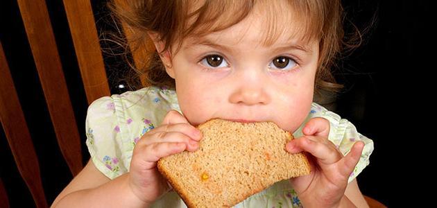 صورة حساسية القمح عند الأطفال