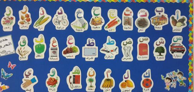 صورة ما عدد الحروف الهجائية في اللغة العربية