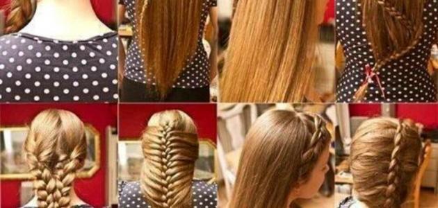 صورة تسريحات الشعر الطويل
