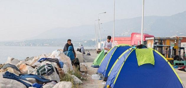 صورة مدينة ميتيليني اليونانية
