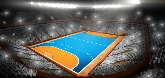 صورة طول وعرض ملعب كرة اليد